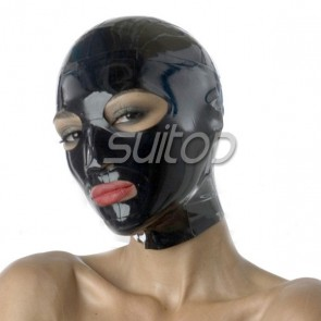 Suitop Fast Shipping latex Hoods for women