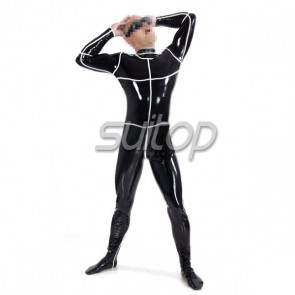 New Arrival latex fashion catsuit for man