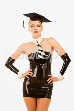 Latex schoolgirl uniforms Office lady dress and Teacher