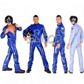 army man rubber catsuit latex military uniform for male costumes cosplay SETS for men