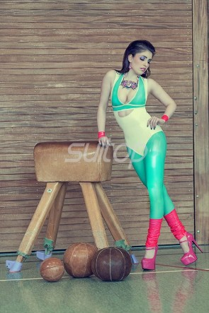 Latex Leotard sexy catsuit for women